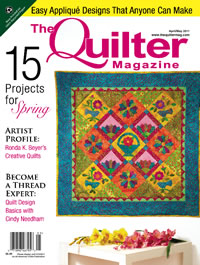 The quilter cover