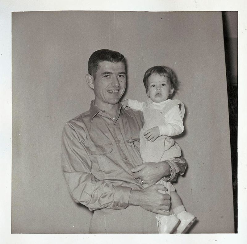 Kathy and daddy