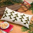 Celeb wool tree pillow