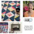 Aurifil 2016 Design Team Oct Kathy Brown collage