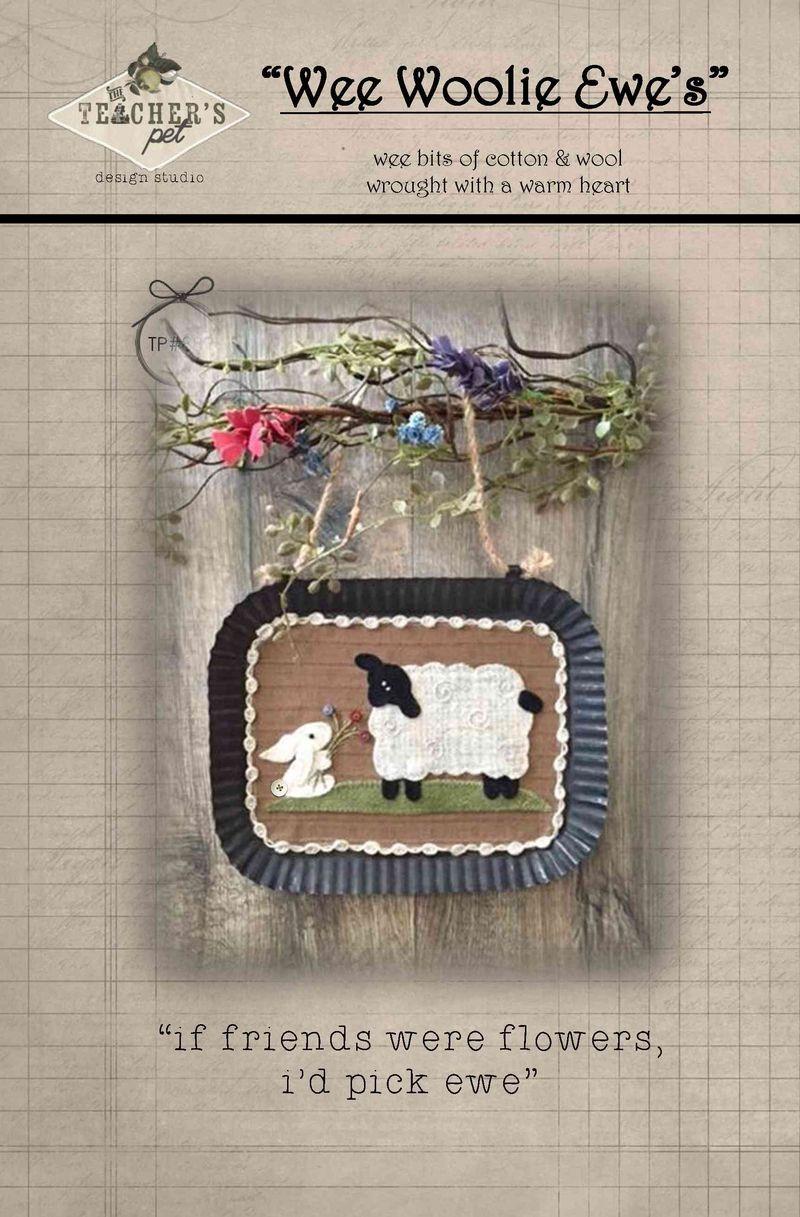 Wee woolie ewe's 882 if friends were flowers id pick ewe front cover1